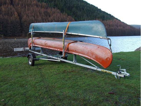 C2 Side Loader Canoe Kayak Trailer Mountain Bike Trailers