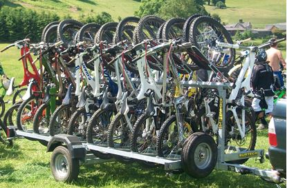 Picture of Downhill Bike Trailer